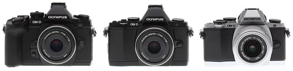 vs Olympus E-M10