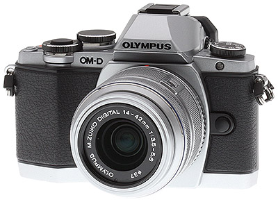 Olympus E-M10 Review - 3/4 beauty shot