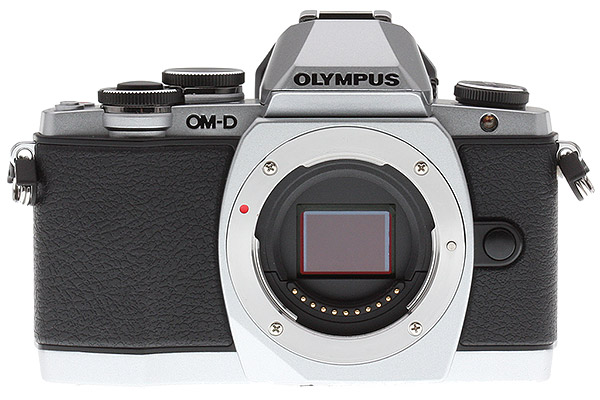 Olympus E-M10 Review - Front View