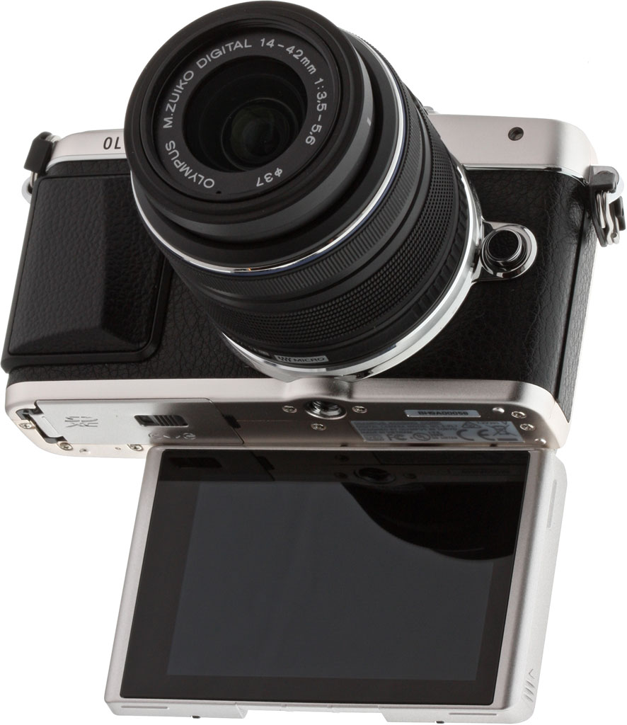 Photo Olympus Camera The Olympus Pl7's Screen Now
