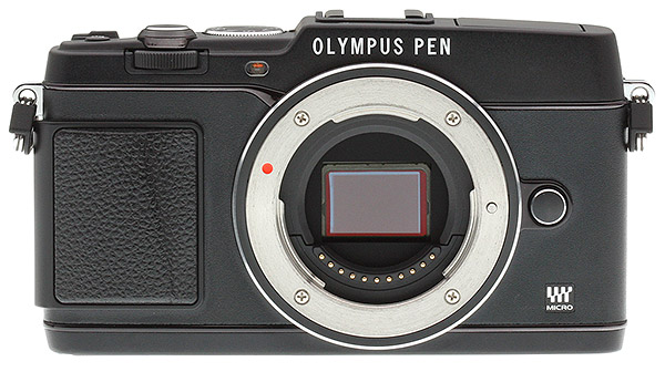 Olympus E-P5 Review - Front view
