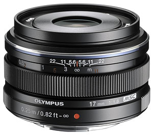 Olympus E-P5 Review - M.Zuiko Digital 17mm f/1.8 lens