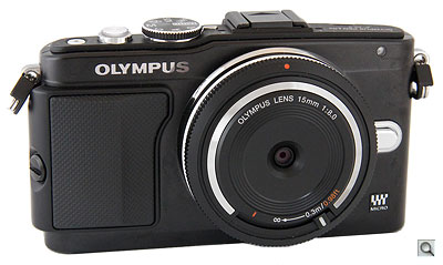 Olympus E-PL5 with 15mm f/8 lens