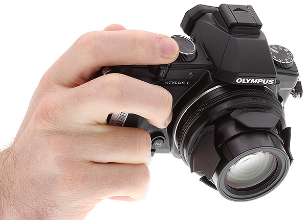 Olympus Stylus 1 Review -- Gripped