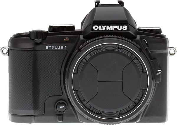 Olympus Stylus 1 Review -- front view
