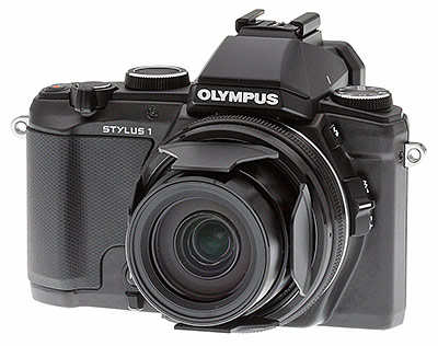 Olympus Stylus 1 Review -- left 3/4 shot