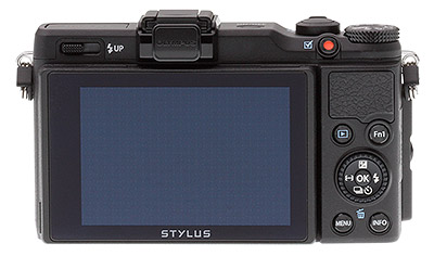 Olympus XZ-2 review: Back view