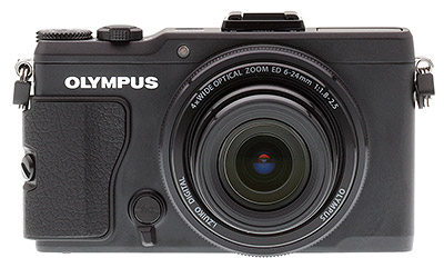 Olympus XZ-2 review: Front view