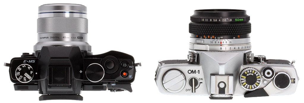 Why is a DSLR bigger than an SLR? - Photography Stack Exchange
