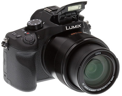 Panasonic FZ1000 Review -- front right side view