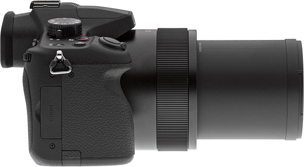 Panasonic FZ1000 Review -- left view