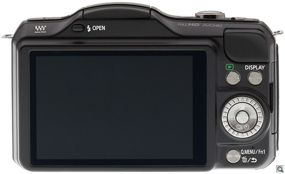 Panasonic GF5 Back