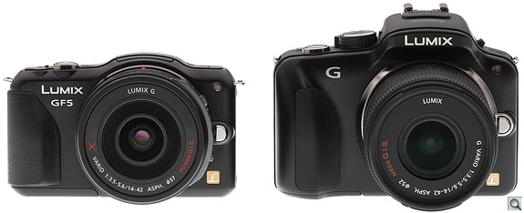 Panasonic GF5 vs G3