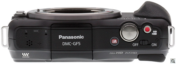 Panasonic GF5 Top