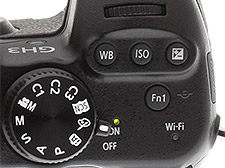 Panasonic GH3 review -- Top deck controls