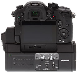 Panasonic GH4 Review -- GH4 with interface unit