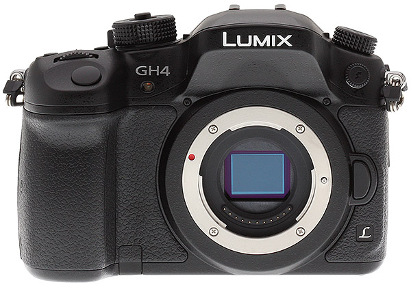 Panasonic GH4 Review -- Rear view (prototype)