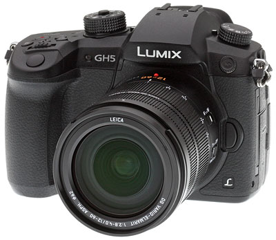 Panasonic GH5 Review -- Product Image