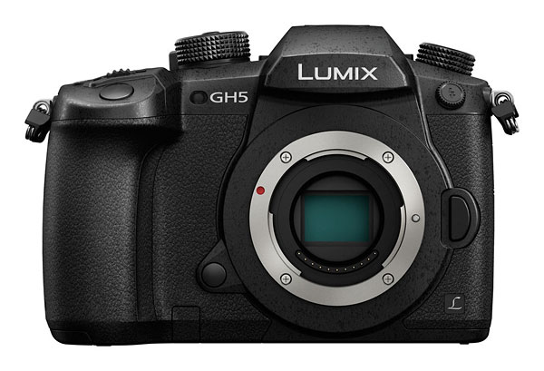 Panasonic GH5 review -- Front view