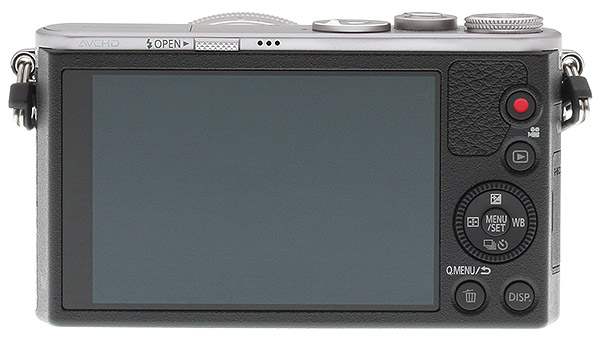 Panasonic GM1 Review -- Back view