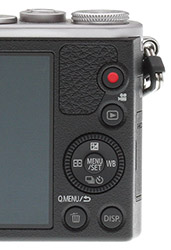 Panasonic GM1 Review -- Rear Buttons