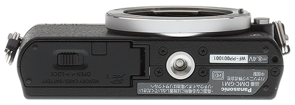 Panasonic GM1 Review --  Bottom view