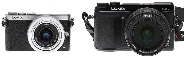 Panasonic GM1 Review -- GM1 vs GX7