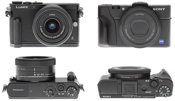 Panasonic GM1 Review -- GM1 vs RX100II