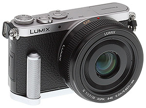 Panasonic GM1 Review -- GM1 with grip