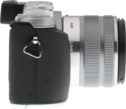 Panasonic GX7 review -- Right view