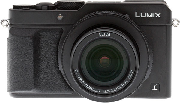 Panasonic LX100 review -- Front view