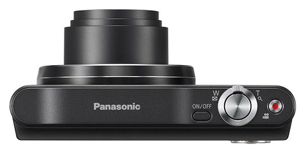 Panasonic SZ8 review - top view