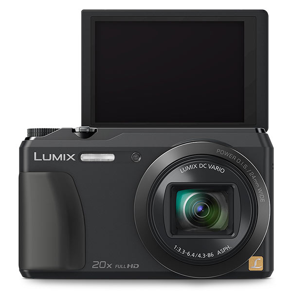 Panasonic ZS35 Review - top view