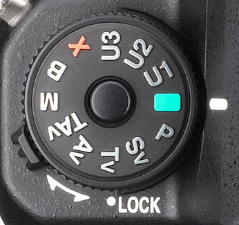 Pentax K-3 Review -- Mode dial