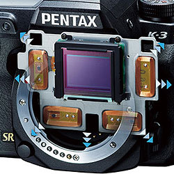 Pentax K-3 Review -- Shake reduction