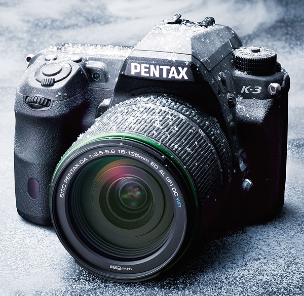 Pentax K-3 Review -- Freezeproof body