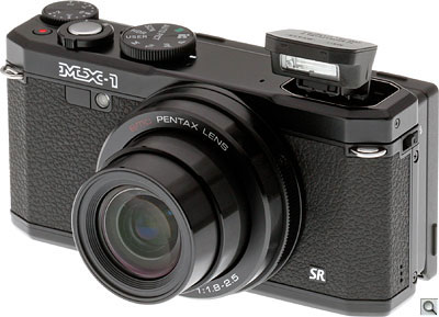 Pentax MX-1 Review -- Angle
