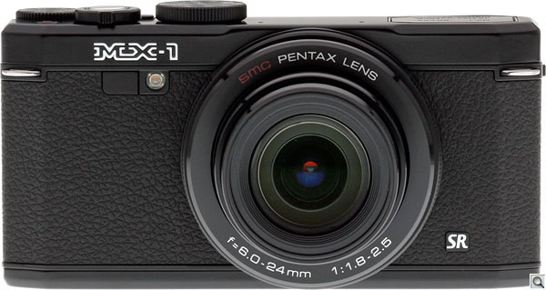 Pentax MX-1 Review --  Front