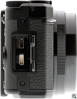Pentax MX-1 Review -- Side
