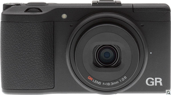 Ricoh GR review -- Front view