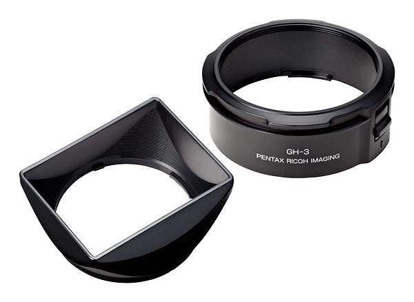 Ricoh GR review -- Lens hood and adapter