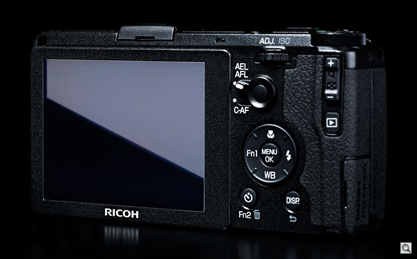 Ricoh GR review -- Rear quarter view