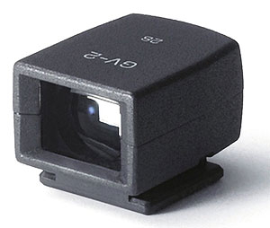 Ricoh GR review -- Optical viewfinder accessory