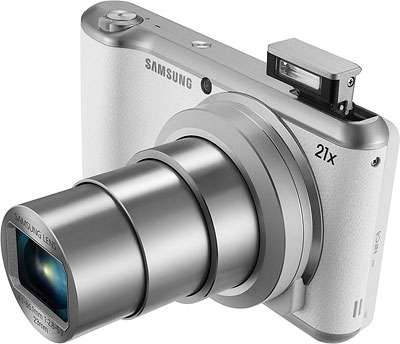 Samsung Galaxy Camera 2 Review -- Front quarter view