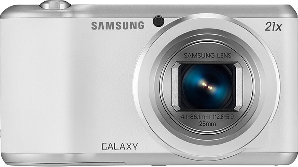 Samsung Galaxy Camera 2 Review -- Front view