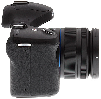Samsung Galaxy NX Review - right side