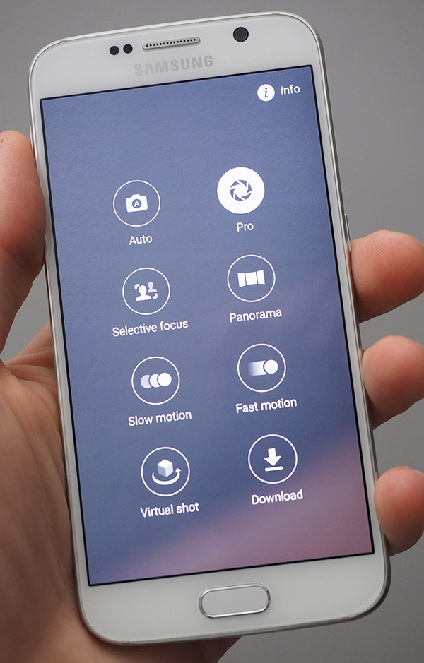 samsung galaxy s6 gold in hand. samsung galaxy s6 review -- product photo gold in hand y