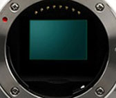 The NX1000's 20.3 megapixel, APS-C CMOS image sensor is developed in