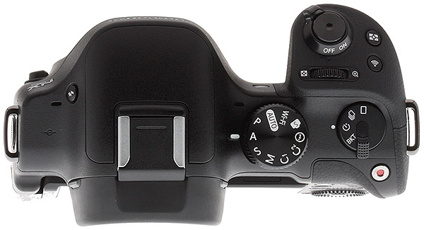 Samsung NX30 Review -- top view