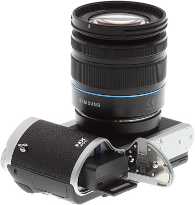 Samsung NX300 Review -- Power and storage